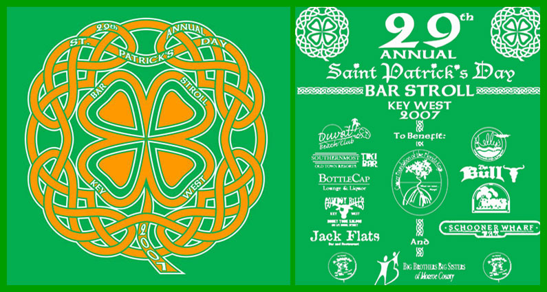 2007 St. Patrick's Day Bar Stroll T-Shirt