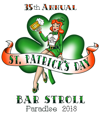 34th Annual St. Patrick's Day Bar Stroll Key West