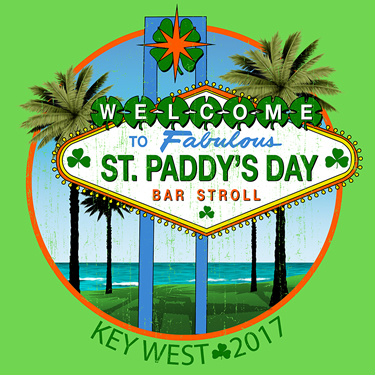 37th Annual St. Patrick's Day Bar Stroll Key West