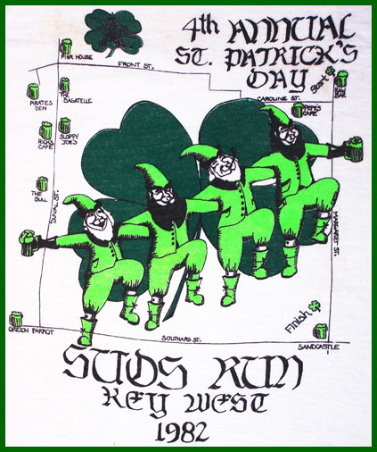 1982 St. Patrick's Day Bar None Suds Run T-Shirt